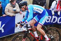 Zdeněk Štybar se stal potřetí mistrem světa na trati v holandském Hoogerheide