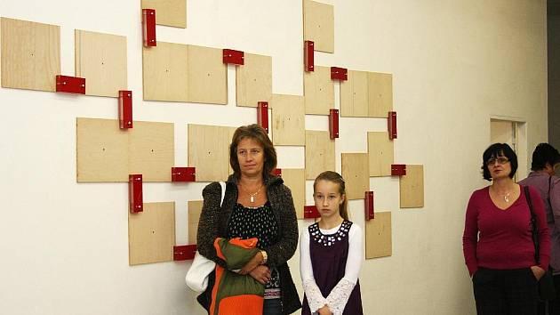 Vernisáž výstavy Ireny Jůzové v Galerii XXL v Lounech