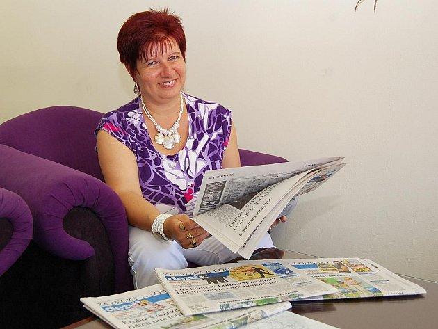 Předplatitelka a věrná čtenářka Deníku Eva Pfeiferová