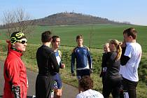 Sportovci se připravují na běh na Červeňák