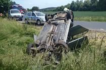 Nehoda u Lužce.