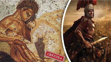 Římští vojáci měli běžně k dispozici sexuální otrokyně.