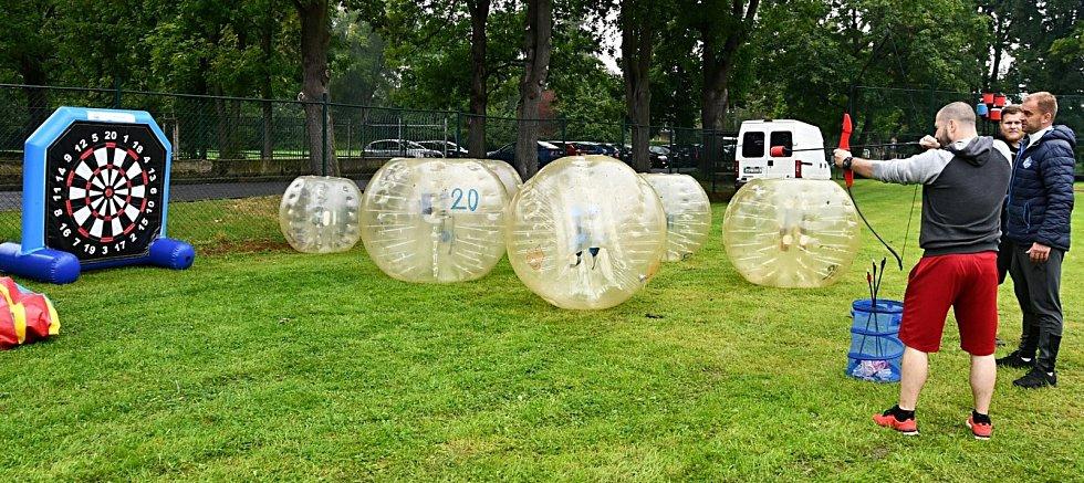 Lounské kluby se představily na festivalu, děti si mohly vybrat sport.