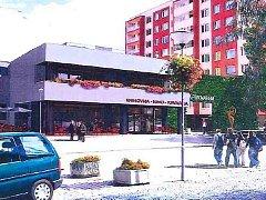 Možná budoucí podoba kulturního domu v Podbořanech podle studie odborníků.