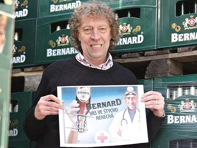 Stanislav Bernard ve svém pivovaru.