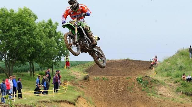 Úvodní závod mistrovství Evropy v motokrosu ve Vysokých Třebušicích