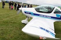 Slet ultralehkých letadel na letišti Macerka u Žatce
