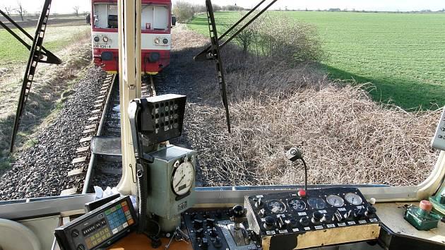 Srážka dvou vlaků mezi Perucí a Klobuky