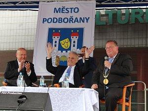 Miloš Zeman navštívil v úterý 19. června Podbořany
