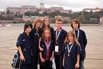 Juniorští tanečníci přivezli z Budapešti mistrovský titul.