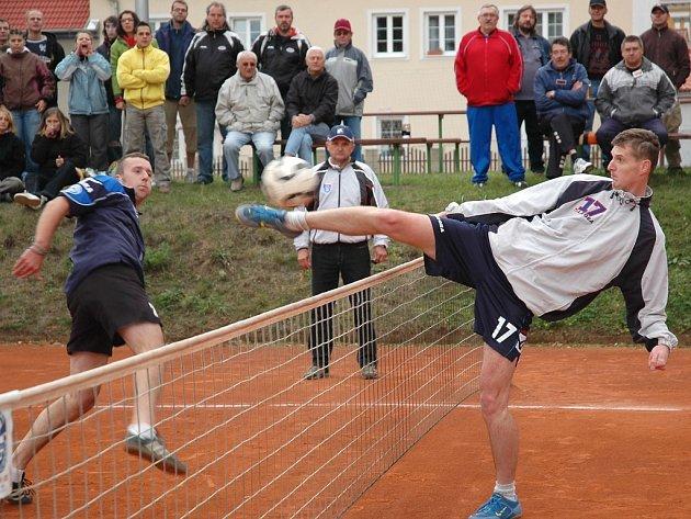 Rozhodující zápas nohejbalistů Žatce s Janovicemi