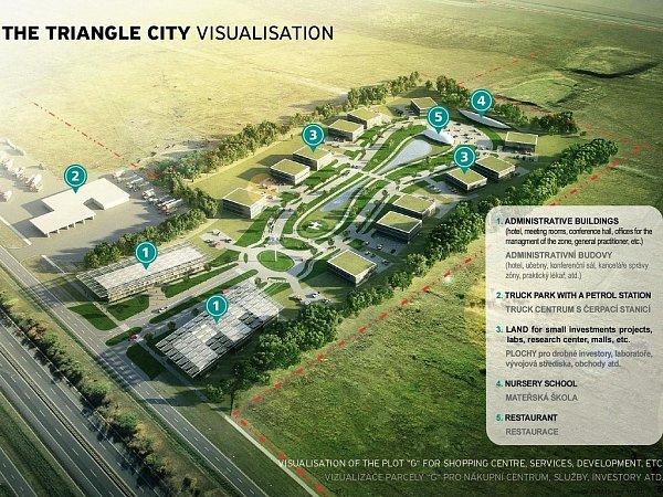 Triangle City - vizualizace