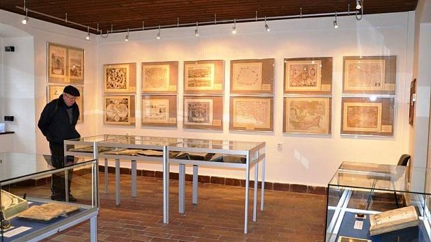 Výstava unikátních map v lounském muzeu