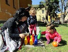 Čarodějnice v Meditační zahradě v Podbořanech s RMC Jonáš.