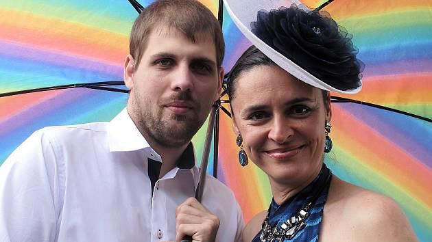 Edita Adlerová a Petr Vacek.