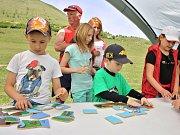 Pro děti byla připravena spousta tvůrčích činností a soutěží