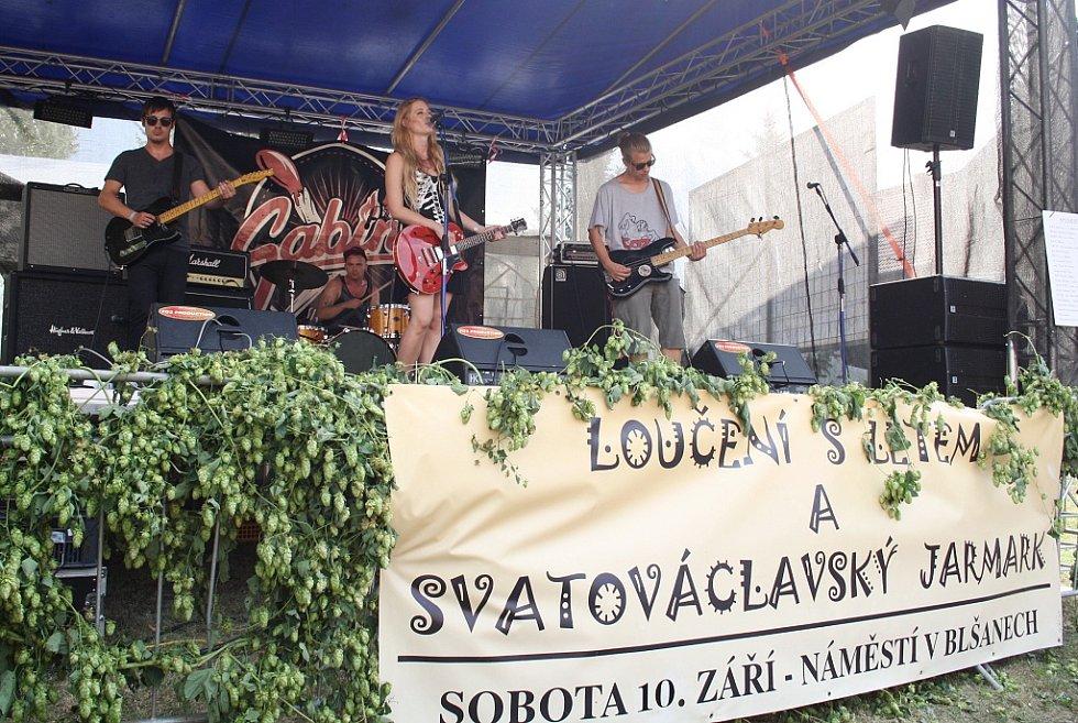 Svatováclavský jarmark a Loučení s létem v Blšanech u Podbořan