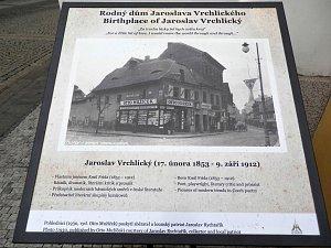 Fotografie ukazuje, jak vypadal Vrchlického rodný dům v Lounech