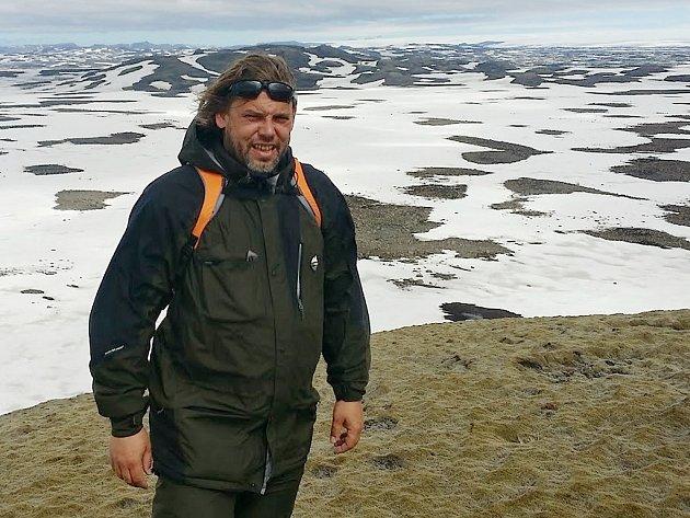 Štěpán Beneš na Islandu