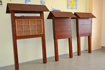 Vězni udělali nový mobiliář na Hopíkovu naučnou stezku