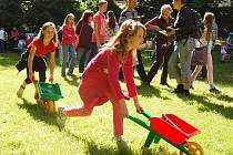 Tradiční dětský den v žateckém parku