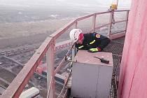 Péče o hnízda v elektrárnách na severu Čech