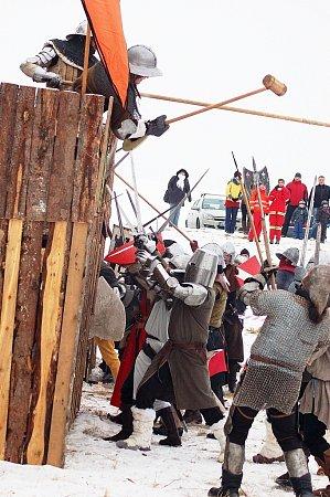 Zimní bitva vPodbořanech