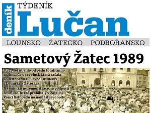 Týdeník Lučan ze 13. listopadu 2018