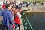 Zahájení turistické sezony v Poohří na přehradě Nechranice