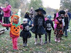 Halloween v Blšanech u Loun