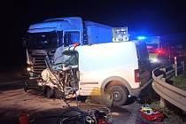 Vážná nehoda u Blatna.