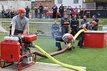 Soutěž v požárním sportu ve Vroutku