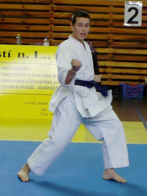 Tomáš Šíma v akci.