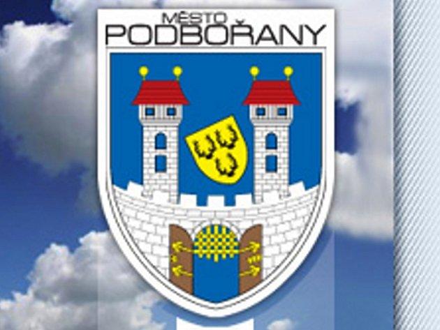 Městský znak Podbořan