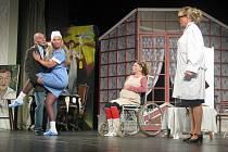 Snímek z divadelní hry Vražda sexem. Ilustrační foto