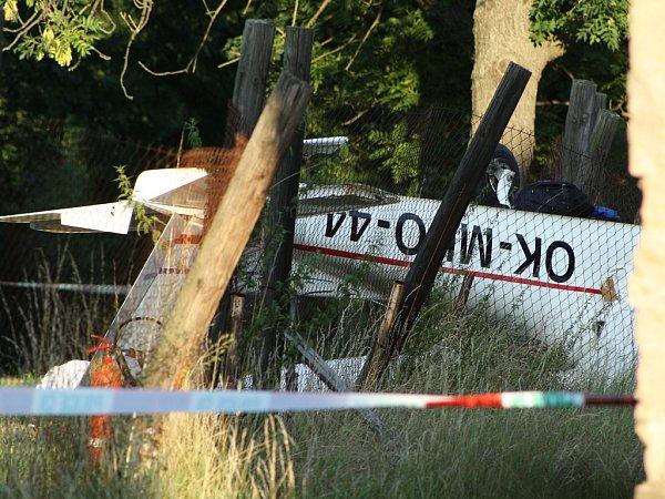 Vobci Lipno havaroval malý letoun. Jeden člověk na místě zahynul