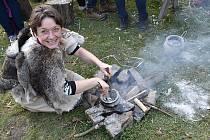 Program k mezinárodnímu dni archeologie ve skanzenu v Březně u Loun