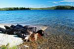 Ochutnávka vody se konala prakticky u všech jezer a moří