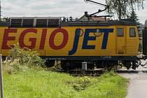 Ilustrační foto vlak Regiojet