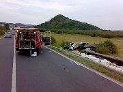 Jednotka zasahuje zejména u dopravních nehod, například když se v srpnu převrátil plně naložený kamion do příkopu