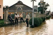 Dobrovolní hasiči z Libčevsi vyjeli pomáhat například v roce 1997 při povodních do Kroměříže