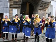 Akci zahájili Žatečtí trubači