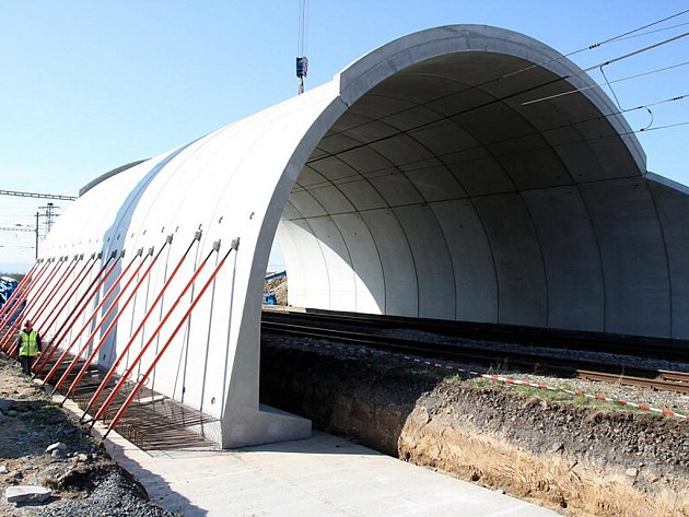 Rekonstrukce mostu u Výškova v Čechách