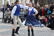 Mezinárodní den tance na žateckém náměstí Svobody