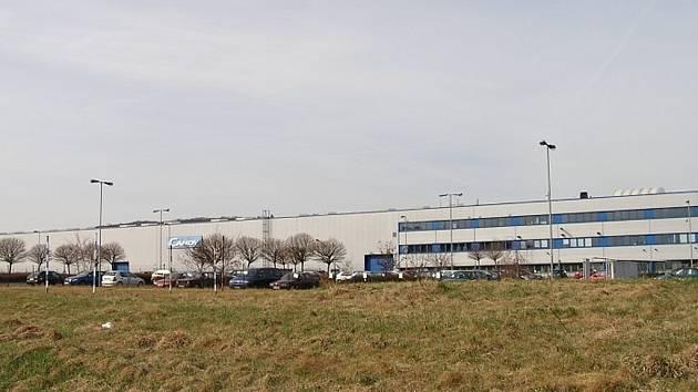 Podbořany, průmyslová zóna Alpka, továrna firmy Candy, která už je opuštěná. Ilustrační foto.