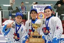 Tři lounští hráči na prestižním turnaji v Quebecu