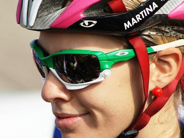 Cyklokrosařka Martina Mikulášková