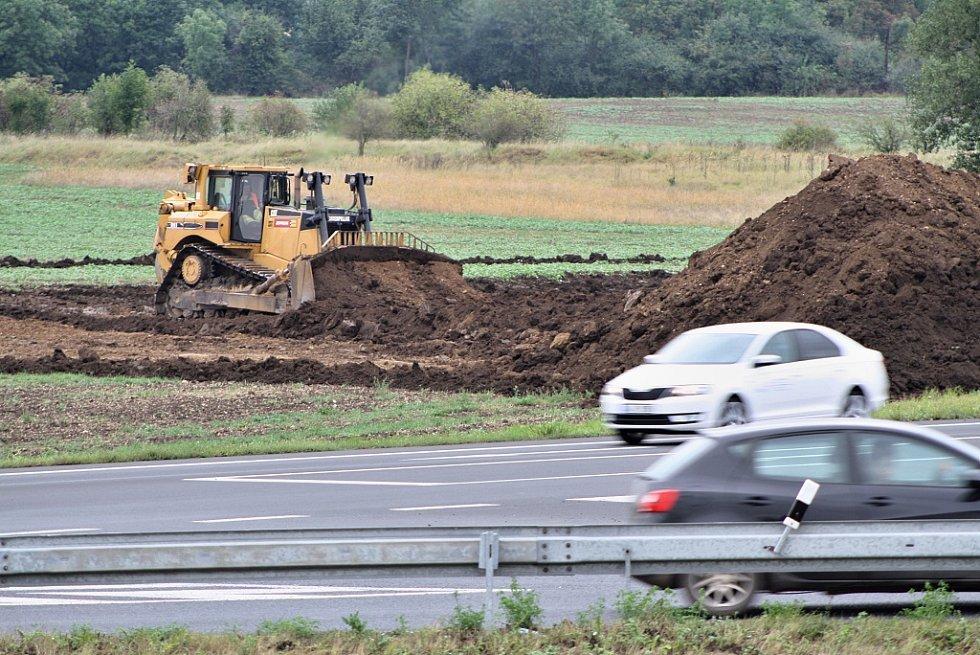 Zahájení stavby dálnice D7 v úseku od Bitozevsi do Postoloprt