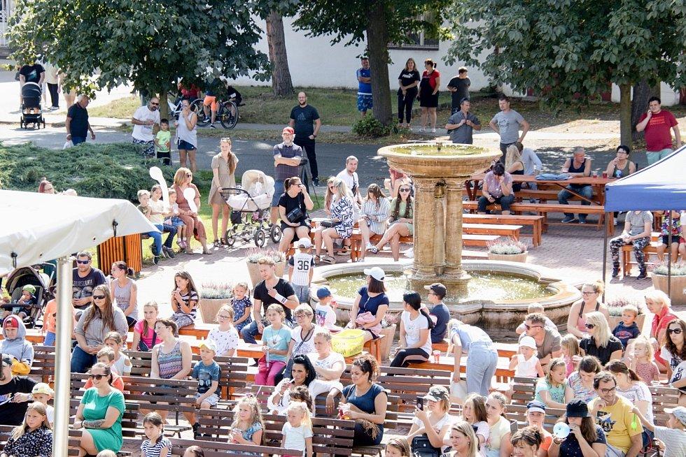 Akce k začátku školního roku v Kryrech.
