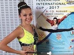 Anička Trnková na poháru v Chorvatsku